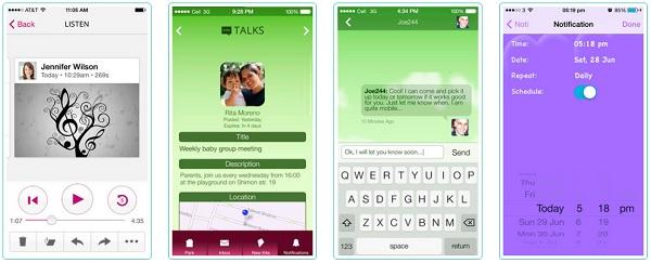 Мобильные приложения для общения